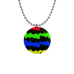 Colorful Abstraction Button Necklaces by Valentinaart