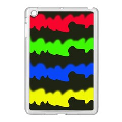 Colorful Abstraction Apple Ipad Mini Case (white) by Valentinaart