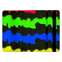Colorful Abstraction Samsung Galaxy Tab Pro 12 2  Flip Case by Valentinaart