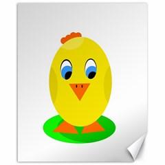 Cute Chicken  Canvas 16  X 20   by Valentinaart