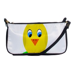 Cute Chicken  Shoulder Clutch Bags by Valentinaart