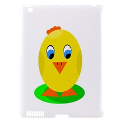 Cute Chicken  Apple Ipad 3/4 Hardshell Case (compatible With Smart Cover) by Valentinaart