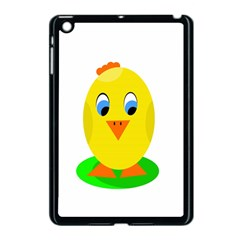 Cute Chicken  Apple Ipad Mini Case (black) by Valentinaart