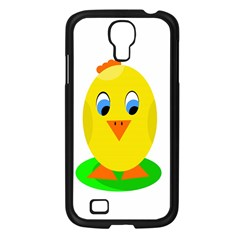 Cute Chicken  Samsung Galaxy S4 I9500/ I9505 Case (black) by Valentinaart