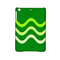 Green waves iPad Mini 2 Hardshell Cases