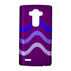 Purple Waves Lg G4 Hardshell Case by Valentinaart