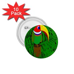 Toucan 1 75  Buttons (10 Pack) by Valentinaart