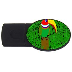 Toucan Usb Flash Drive Oval (2 Gb)  by Valentinaart