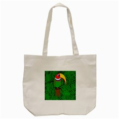 Toucan Tote Bag (cream) by Valentinaart