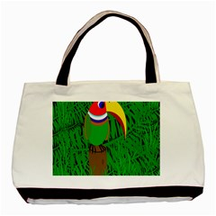 Toucan Basic Tote Bag (two Sides) by Valentinaart