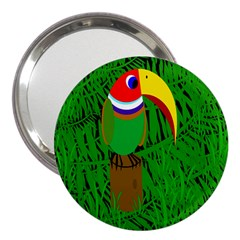Toucan 3  Handbag Mirrors by Valentinaart
