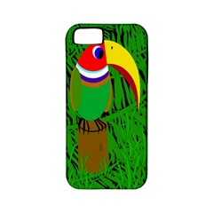 Toucan Apple Iphone 5 Classic Hardshell Case (pc+silicone) by Valentinaart