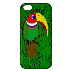Toucan Iphone 5s/ Se Premium Hardshell Case by Valentinaart