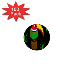 Toucan 1  Mini Magnets (100 Pack)  by Valentinaart