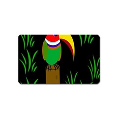 Toucan Magnet (name Card) by Valentinaart