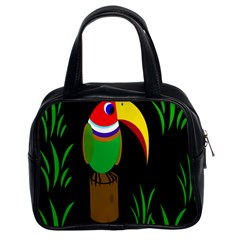 Toucan Classic Handbags (2 Sides) by Valentinaart