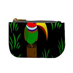 Toucan Mini Coin Purses by Valentinaart