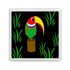 Toucan Memory Card Reader (square)  by Valentinaart