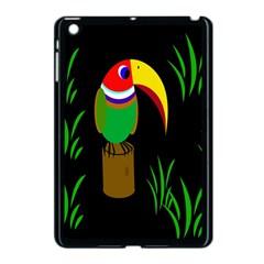 Toucan Apple Ipad Mini Case (black) by Valentinaart