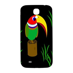 Toucan Samsung Galaxy S4 I9500/i9505  Hardshell Back Case by Valentinaart