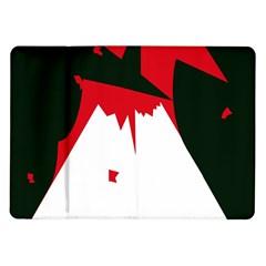 Volcano  Samsung Galaxy Tab 10 1  P7500 Flip Case by Valentinaart