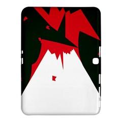 Volcano  Samsung Galaxy Tab 4 (10 1 ) Hardshell Case  by Valentinaart