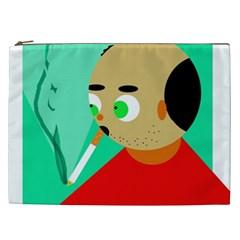 Smoker  Cosmetic Bag (xxl)  by Valentinaart