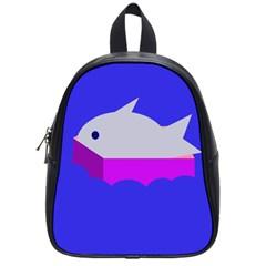 Big Fish School Bags (small)  by Valentinaart