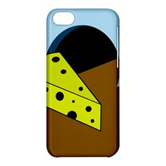 Cheese  Apple Iphone 5c Hardshell Case by Valentinaart