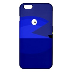 Blue Monster Fish Iphone 6 Plus/6s Plus Tpu Case by Valentinaart