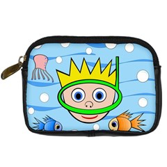Diver Digital Camera Cases by Valentinaart
