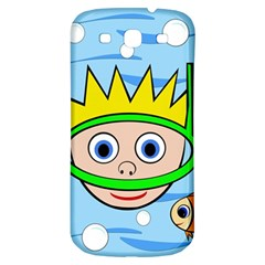 Diver Samsung Galaxy S3 S Iii Classic Hardshell Back Case by Valentinaart
