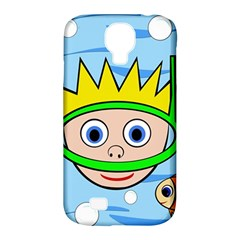 Diver Samsung Galaxy S4 Classic Hardshell Case (pc+silicone) by Valentinaart