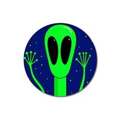 Alien  Magnet 3  (round) by Valentinaart