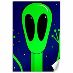 Alien  Canvas 20  x 30