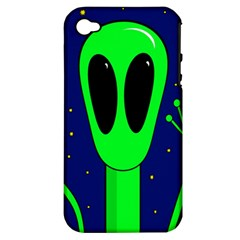 Alien  Apple Iphone 4/4s Hardshell Case (pc+silicone) by Valentinaart