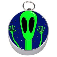 Alien  Silver Compasses by Valentinaart