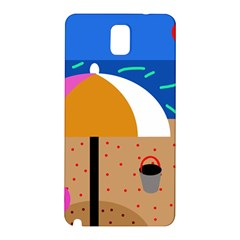 On The Beach  Samsung Galaxy Note 3 N9005 Hardshell Back Case by Valentinaart