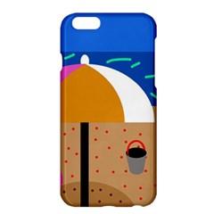 On The Beach  Apple Iphone 6 Plus/6s Plus Hardshell Case by Valentinaart
