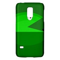 Green Monster Fish Galaxy S5 Mini by Valentinaart