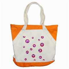 Purple Eyes Accent Tote Bag by Valentinaart