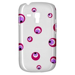 Purple Eyes Samsung Galaxy S3 Mini I8190 Hardshell Case by Valentinaart