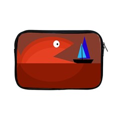 Red Monster Fish Apple Ipad Mini Zipper Cases by Valentinaart