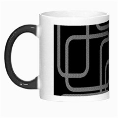Black And Gray Decorative Design Morph Mugs by Valentinaart