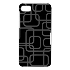 Black and gray decorative design BlackBerry Z10