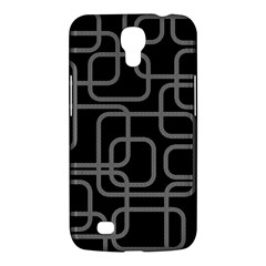 Black And Gray Decorative Design Samsung Galaxy Mega 6 3  I9200 Hardshell Case by Valentinaart