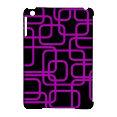Purple And Black Elegant Design Apple Ipad Mini Hardshell Case (compatible With Smart Cover) by Valentinaart