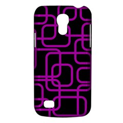 Purple And Black Elegant Design Galaxy S4 Mini by Valentinaart
