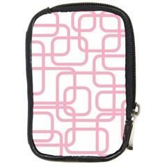 Pink Elegant Design Compact Camera Cases by Valentinaart