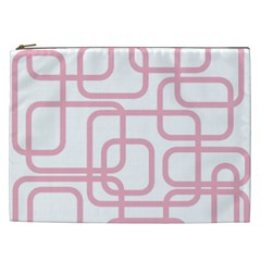 Pink elegant design Cosmetic Bag (XXL)